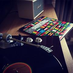Latest Vinyl Aquisition (boloveselvis) Tags: akai bt 500 bt500 akaiturntable turntable vinylporn vinyladdict vinyl addict lp 33rpm acton amp marshall bobmarley wailers classic33 classiclp
