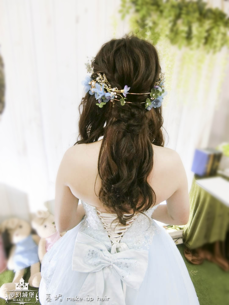 【新秘蓁妮】bride淑滿 結婚造型 / 雲林泰安宮