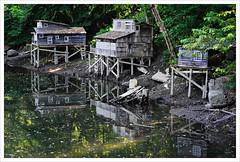 Shanty town (Free 2 Be) Tags: art replica shacks maplewoodflats shanty maplewoodflatsconservationarea afsdxvrzoomnikkor18200mmf3556gifedii