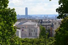 my Paris (Jeanne Menjoulet) Tags: parcdebelleville paris toits panorama