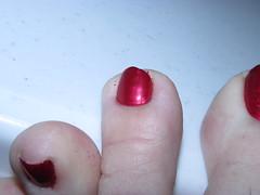 OPI | An Affair in Red Square | Lone Wolf (markrudolph203) Tags: an affair red square opi opinail color polish toe toes nail nails toenail toenails dude man guy gay homosexual men wearing