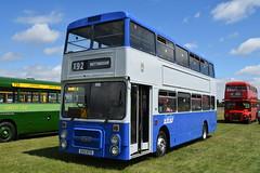 E153 BTO (markkirk85) Tags: basildon bus rally buses volvo b10m50 northern counties dews somersham new derby 21988 153 city transport e153 bto e153bto