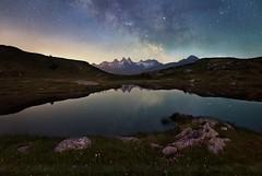 Voie lactée en Savoie, France (Chris Llers) Tags: milky way alps alpes milkyway voielactée voie lactée nightscape paysages nocturne étoiles
