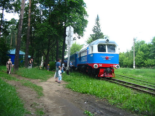 Kratovo children railway TU2-129 2003-07-05