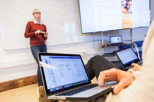 Master IKT_Studenter_Undervisning_Tavle by ntnuie, on Flickr