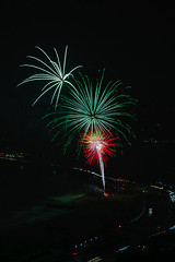 47 (morgan@morgangenser.com) Tags: pacificpalisaddes beach belairbayclub blue celebrate fireworks color iso100 july3rd loud nikon night ocean orange pch people red reflection special spectacular streaks timeexposire tripod yellow amazing