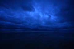 blue dreams (Samir D) Tags: blue sea india water clouds canon landscape eos asia azure monsoon bangla 2010 westbengal bayofbengal digha sigma1020 40d canon40d samird