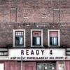 Ready 4 (kevin dooley) Tags: windows red building brick face sign mi facade canon eos town us midwest theater theatre michigan side small 4 signage ready ladder 24mm f28 hdr smalltown redbrick niles ready4 readyfor 40d readytheatre readytheater ready4what readyforwhat