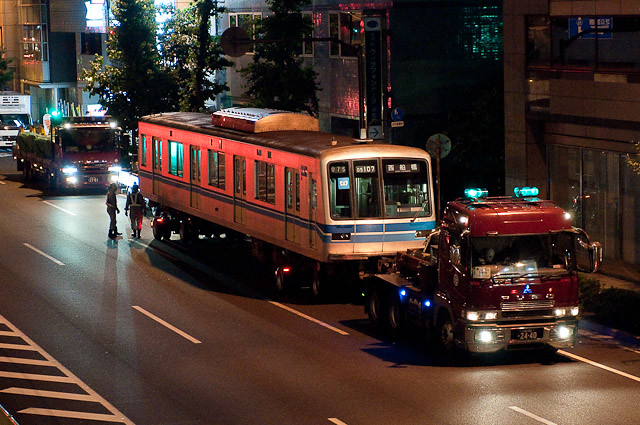 東京メトロ東西線05系05-107F 05-107 川崎市営埠頭へ陸送
