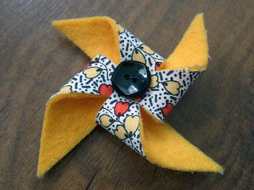 Pinwheel Brooch