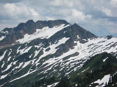 the north face of Indian Head Peak