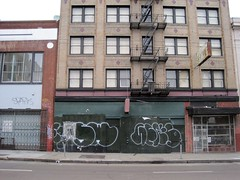 (kewlio) Tags: sanfrancisco graffiti ceks swerv