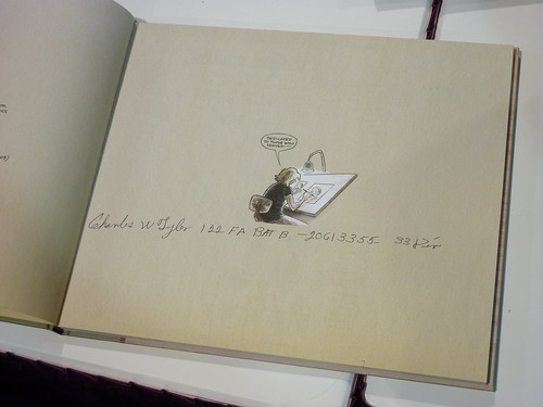 You'll Never Know Book 1 by C. Tyler, signed by Chuck Tyler - Fantagraphics at Comic-Con 2010