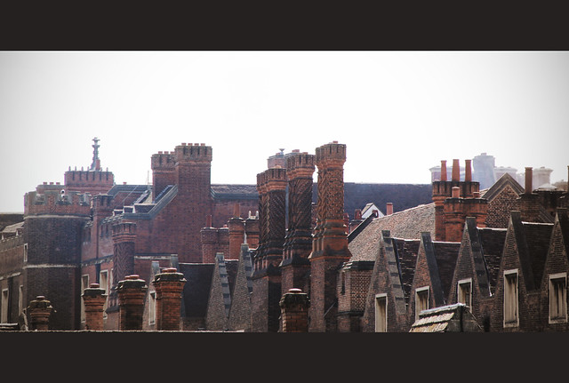 Hampton Court Palace - roofs