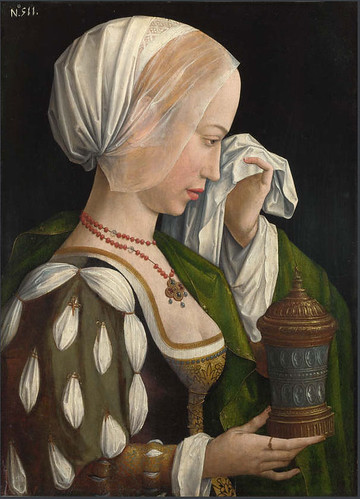Magdalen Weeping, by the Master of the Magdalen Legend. © National Gallery, London