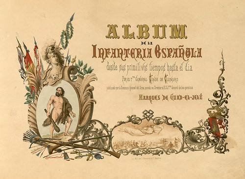 001- Álbum de la Infantería Española..-1861- conde de Clonard