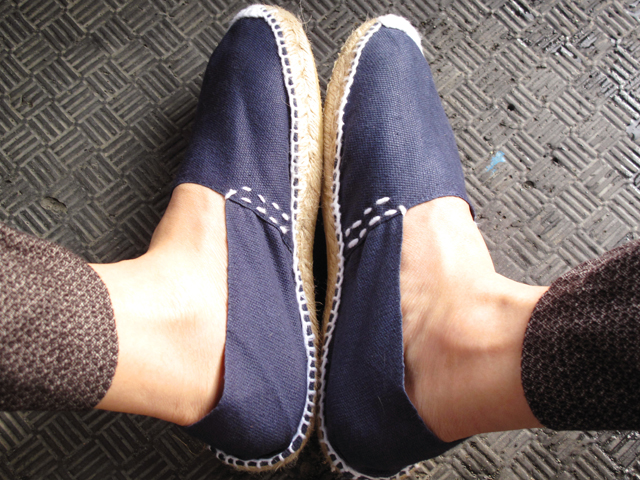 New navy espadrilles 02
