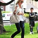 Alex Gerrard running errands in Woolton, Liverpool