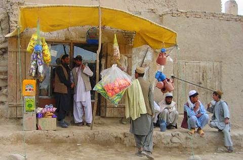 Shop in Logar Province