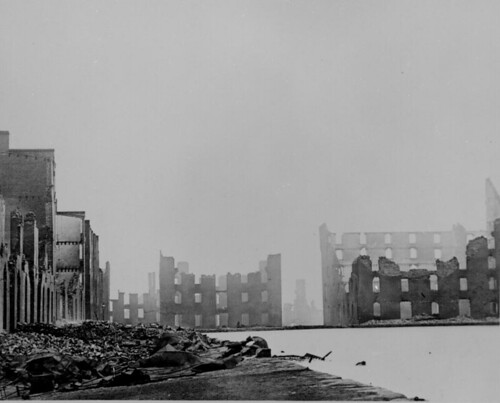 Richmond, VA, 1865 (by Matthew Brady, US National Archives)