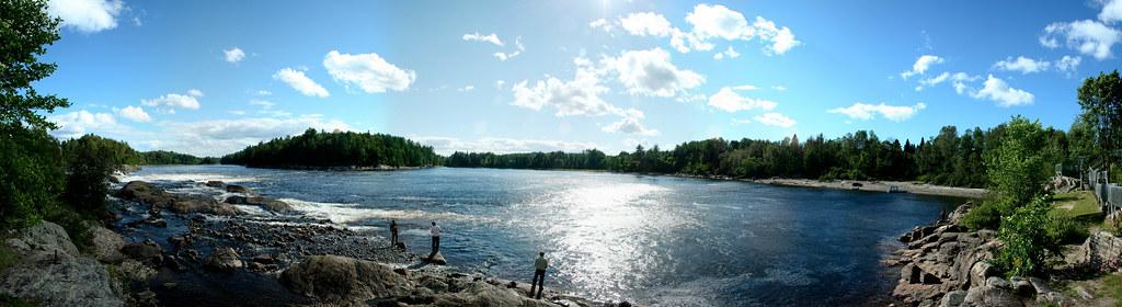 Pêche sur la rivière Gatineau