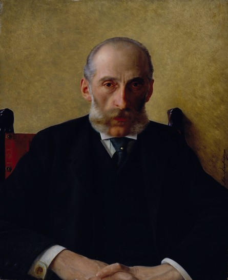 Portrait of Isidor Gewitsch by The Jewish Museum