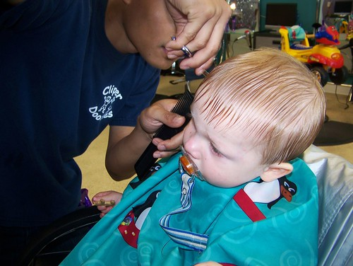 100720 Coleman's Haircut 05