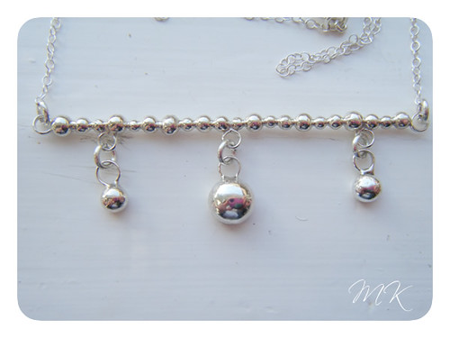 Dot dot goose necklace 4