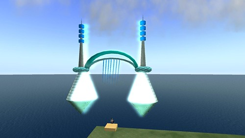 bridge building in second life