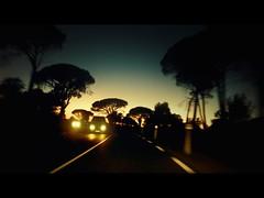 P1050914c (UbiMaXx) Tags: road sunset france night movie french lumix interesting riviera style panasonic frame flare cote cinematic azur maxx frenchriviera ts1 ft1 ubimaxx