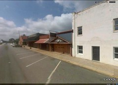 Chesnee, SC town center (via Google Earth)