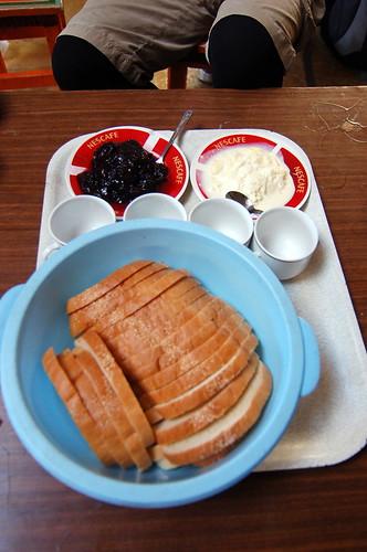 Breakfast in Terelj National Park 特勒吉國家公園