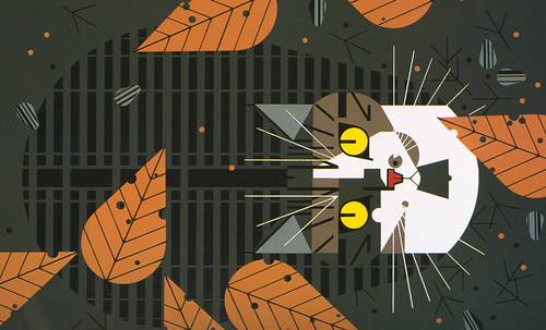 "Charley Harper • <a style=""font-size:0.8em;"" href=""https://www.flickr.com/photos/30735181@N00/4848315928/"" target=""_blank"">View on Flickr</a>"