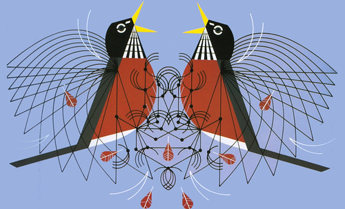"Charley Harper • <a style=""font-size:0.8em;"" href=""https://www.flickr.com/photos/30735181@N00/4848331472/"" target=""_blank"">View on Flickr</a>"