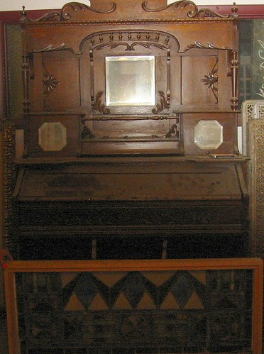 Old Stained Glass & Furniture