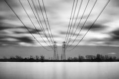 energies (nicola tramarin) Tags: longexposure bw italy energy italia fiume energie delta po energia veneto rovigo lungaesposizione polesine nicolatramarin