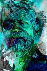 """""""NC Mallory for JKPP"""" (flynryon) Tags: portrait painterly art texture digital painting paint drawing canvas oil impressionism abstraction angular ryon fingerpainted iphone simulated layered scumble iphoneart paintbook flynryon httppaintbookcaflynryon juliakaysportraitparty iamda"""