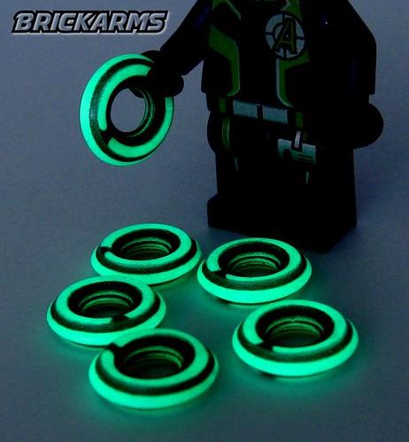 BrickArms Chakram - Light Disc