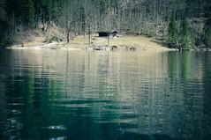 Cabin on King's Lake (Sergiu Bacioiu) Tags: lake alps reflection germany landscape bayern bavaria berchtesgaden cabin woods outdoor alpine alpen deu knigssee kingslake nationalparkberchtesgaden knigsseelake