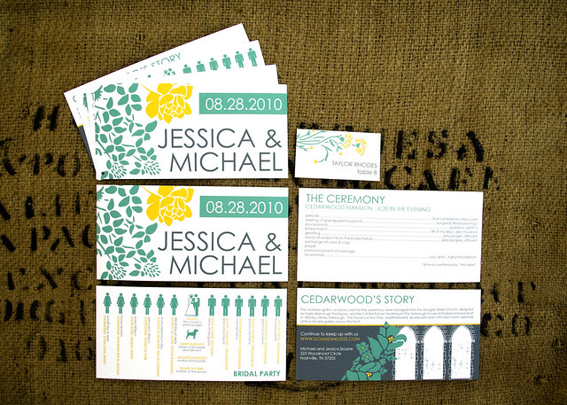Nashville Wedding Invitation Suite