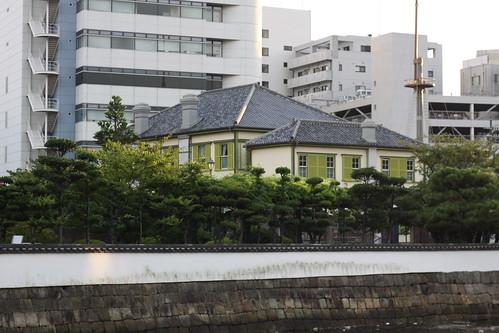 Dejima from across the river