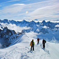 The Alps from Aiguille du Midi (nebulous 1) Tags: snow france mountains alps 1 nikon explore matterhorn peaks chamonix cervin skiers aiguilledumidi hautesavoie snowboarders colorphotoaward nebulous1 thealpsfromaiguilledumidi