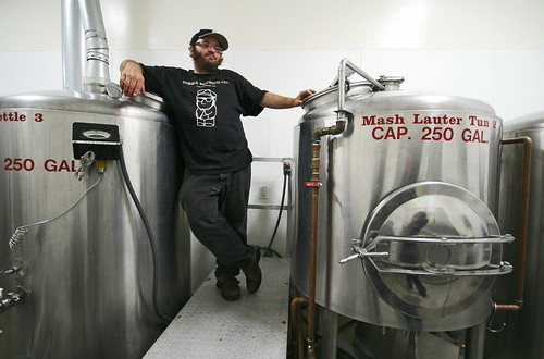Nibble Bit Tabby Brewery: owner Brian Lethcoe