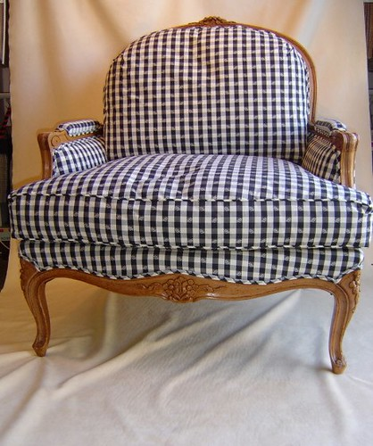 Bergere Chair by Michaels Upholstery