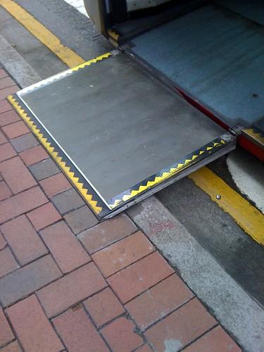 香港低底盤-下車斜坡