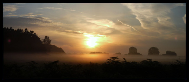 Kenley Airfield Sunrise 1