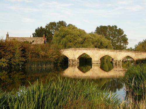 River Thames at Newbridge, Oxfordshire.