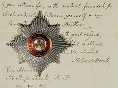 Lord Nelson's Breast Star of the Order of the Bath