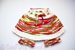 """Fresh as Strawberries"" Bloomer Skirty - 15% off!!"