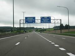 ch 095 (European Roads) Tags: road de highway motorway belgium belgique belgië autobahn autopista freeway autoroute luxembourg a4 liège autostrada bastogne baraque fraiture a26 arlon e25 e411 beaufays